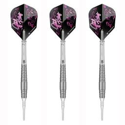 "Click here to learn more about the Target Darts Girl Play Japan Tungsten Soft Tip Darts ""Cutie""."