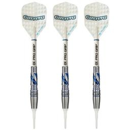 Click here to learn more about the Carrera Azzurri Razzo 90% Tungsten Soft Tip Darts 17 Grams.