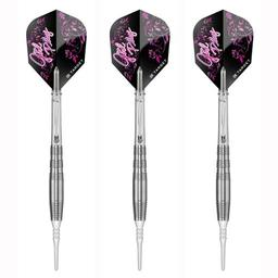 "Click here to learn more about the Target Darts Girl Play Japan Tungsten Soft Tip Darts ""Juicy""."