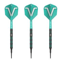 Click here to learn more about the Target Darts Rob Cross Voltage 80% Tungsten Soft Tip Darts Black.