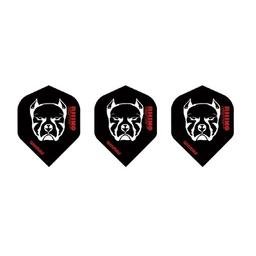 Click here to learn more about the Winmau Bulldog Rhino Flights Black Standard.