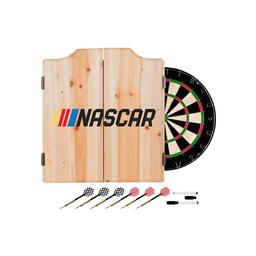 Click here to learn more about the NASCAR Dart Cabinet Set With Darts & Dartboard.
