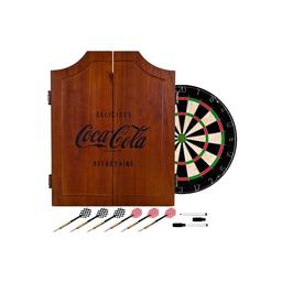 Click here to learn more about the Coca-Cola Dart Cabinet Set.