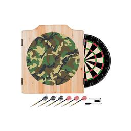 Click here to learn more about the Hunt Camouflage Wood Dart Cabinet Set.
