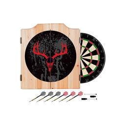 Click here to learn more about the Hunt Skull Wood Dart Cabinet Set.
