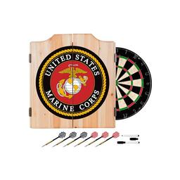 Click here to learn more about the United States Marine Corps Wood Dart Cabinet Set.
