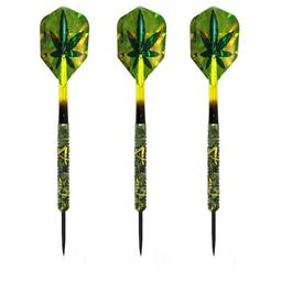 Click here to learn more about the LaserDarts Kush Jungle Limited Edition Steel Tip Darts 24 Gram.