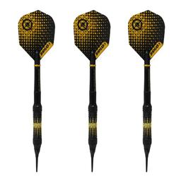 Click here to learn more about the Dart Addict Crusader Black Soft Tip Darts 18 Gram.