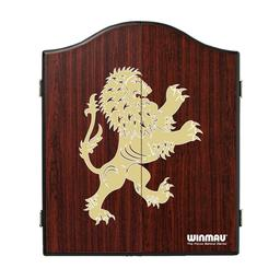 Click here to learn more about the Winmau Rosewood Style Lion Dart Cabinet.