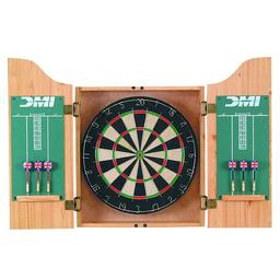 Click here to learn more about the DMI Sports Deluxe Dartboard Cabinet Sets (Light Oak).