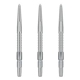 Click here to learn more about the Target Darts SWISS Steel Tip Replacement Points - FIREPOINT Silver.