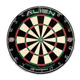 Click here to learn more about the Dart World Alien Bristle Dartboard.