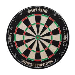 Click here to learn more about the Viper Shot King Bristle Dartboard.