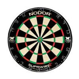 Click here to learn more about the Nodor SupaWire2 Bristle Dartboard.