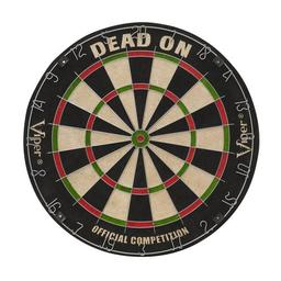 Click here to learn more about the Viper Dead On Bristle Dartboard.