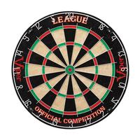Click here to learn more about the Viper League Sisal Dartboard.