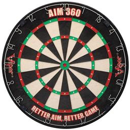 Click here to learn more about the Viper Aim 360 Sisal Fiber Dartboard.