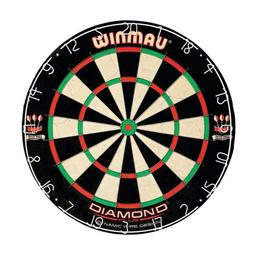 Click here to learn more about the Winmau Diamond Plus Bristle Dartboard.