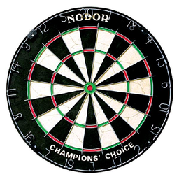 Click here to learn more about the Nodor Champion's Choice Practice Bristle Dartboard.