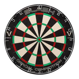 Click here to learn more about the Viper Slash Staple-Free Sisal Steel Tip Dartboard.