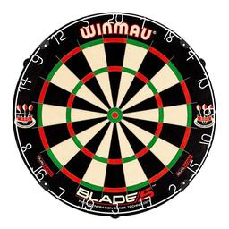 Click here to learn more about the Winmau Blade 5 Dual Core Bristle Dartboard.
