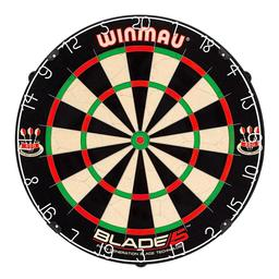 Click here to learn more about the Winmau Blade 5 Bristle Dartboard.