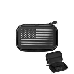 Click here to learn more about the Casemaster Sentinel American Flag Dart Case.