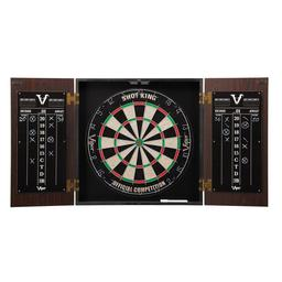 Click here to learn more about the Viper Stadium Dartboard Cabinet with Shot King Sisal Dartboard.