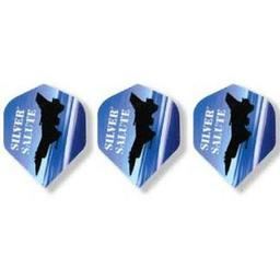 "Click here to learn more about the Bottelsen ""Silver Salute"" Standard Dart Flights."