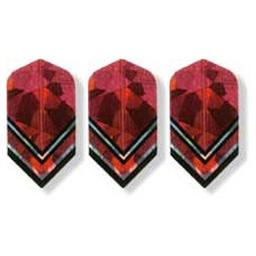 Click here to learn more about the Bottelsen Red Chevron Cole Cracker Dart Flight.