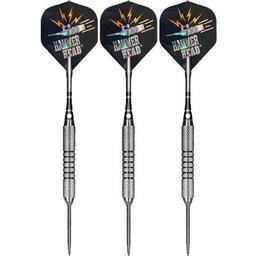 "Click here to learn more about the Bottelsen Original Hammer Head Silver Coarse Knurl 9/32"" Barrel Darts."