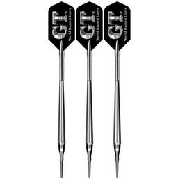 Click here to learn more about the Bottelsen G.T. Original Silver Finish Smooth Barrel Soft Tip Darts .
