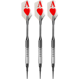 Click here to learn more about the Bottelsen Aces High Tungsten Soft Tip Darts.