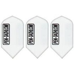 Click here to learn more about the GLD White Slim Pentathlon 2368 Dart Flights.