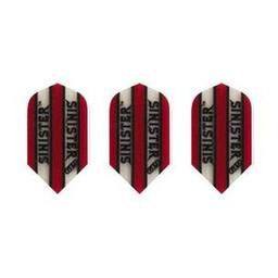 Click here to learn more about the Sinister Slim Transparent Red Dart Flights.