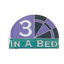 Click here to learn more about the Award Pins - 3 In A Bed.