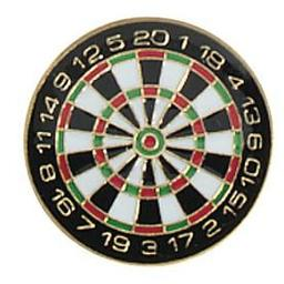 Click here to learn more about the Dartboard Award Pin.