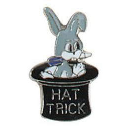 Click here to learn more about the Award Pins - Hat Trick Rabbit .