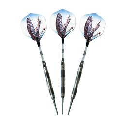 Click here to learn more about the Elkadart ''Black Mamba'' Tungsten Soft Tip Darts .