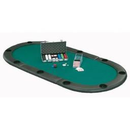 Click here to learn more about the Fat Cat Oval Folding Poker Table Top.