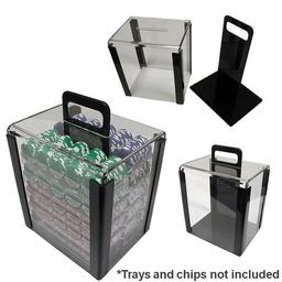 Click here to learn more about the 1000 Chip Capacity Clear Acrylic Carrier.