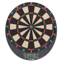 Click here to learn more about the Arachnid Bullshooter Volt Electronic Dartboard.