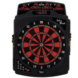 Click here to learn more about the Solar Blast Electronic Dartboard.