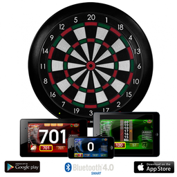 Click here to learn more about the Gran Board 3 Electronic Dartboard with Bluetooth.