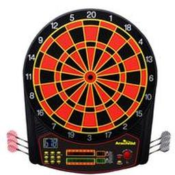 Click here to learn more about the Arachnid Cricketpro 450 Electronic Dartboard.