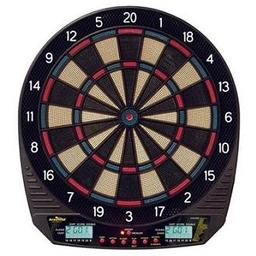 Click here to learn more about the Arachnid DarTronic 300 Electric Dartboard.