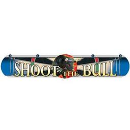 Click here to learn more about the Dart World Shoot the Bull BLUE Dart Throw Line.
