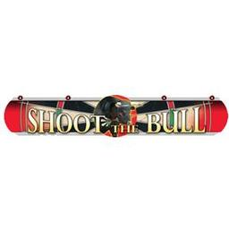 Click here to learn more about the Dart World Shoot the Bull RED Dart Throw Line.