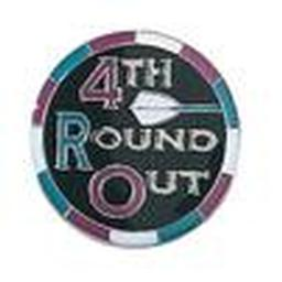 Award Pin - 4th Round Out