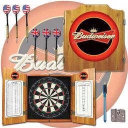 Click here to learn more about the Budweiser Dart Cabinet Including Darts and Dart Board.